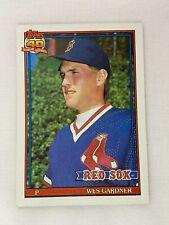 RC - Rookie Card // Photo actuall Louie Meadows Baseball Cards - Philadelphia Phillies 1991 Topps #603 Wes Chamberlain ERR RC 603A