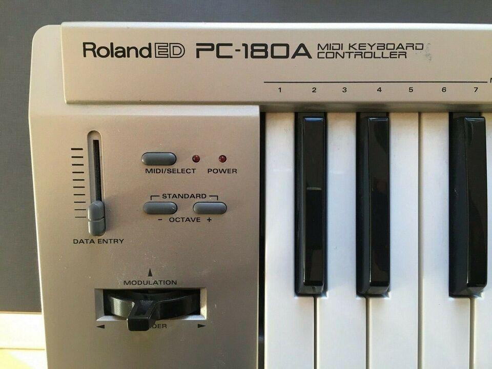 Midi keyboard, Roland PC-180A