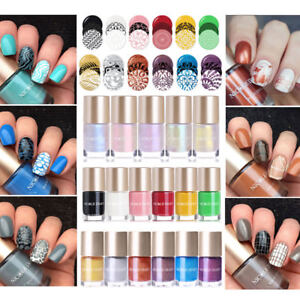 9ml Nicole Diary Stamping Polish Pure Pearl Shiny Series Nail Art