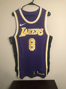 Details about Nike Los Angeles Lakers Kobe Bryant #8 Statement Authentic Jersey Size 52