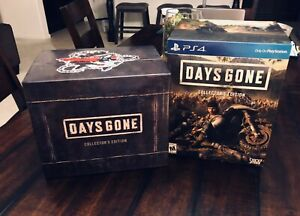 Days-Gone-PS4-Collector-039-s-Limited-Edition-BOX-ONLY-NO-GAME-Sony-Bend