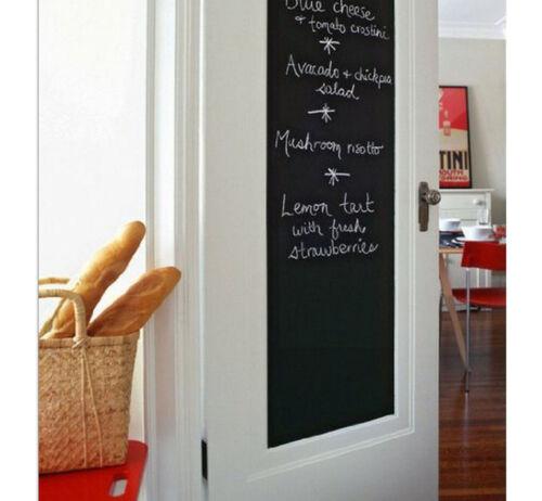 Chalk Board Wall Decal Removable Blackboard Wall Sticker