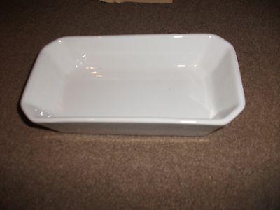 Pottery Honest Pillivuyt France Pie Dish-porcelaine-white-exc Cond-19 Cm Long-10 Cm Wide Catalogues Will Be Sent Upon Request Pottery, Porcelain & Glass