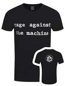 Rage-Against-the-Machine-Molotov-Men-039-s-Black-RATM-T-shirt