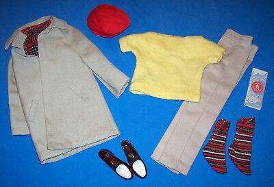 Vintage Ken #782 Casuals #788 Rally Day Flat Cap Red Hat MINT Allan Doll