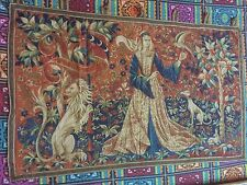 Antique print French English Design Aubusson Tapestry 84 By 125 Cm