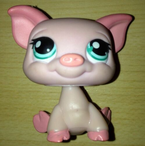 Littlest pet shop lps toy pig figures
