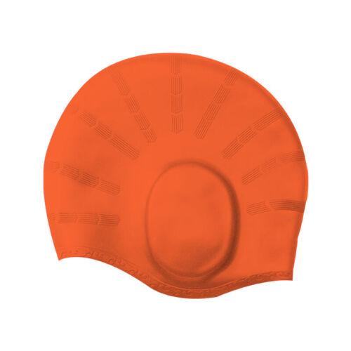 Useful Silicone Swimming Cap Long Hair Women for Adult Men Ladies Waterproof Hat