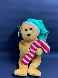 TY Tasty Bear (USA Exclusive) Christmas Beanie Baby, 2005