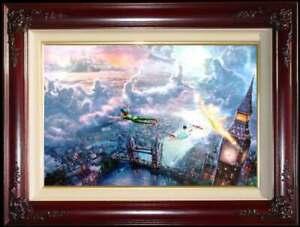 Thomas-Kinkade-Disney-Peter-Pan-Tinker-Bell-IP-P-Canvas