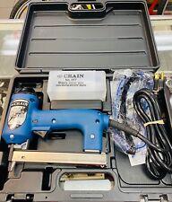 CRAIN POWER TACKER CARPET STAPLER NO 625 WITH CASE