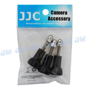 JJC-3x-Short-Thumb-Knob-Screw-Bolt-amp-Cap-for-GoPro-Hero-4-3-3-2-1-Camera-Mount
