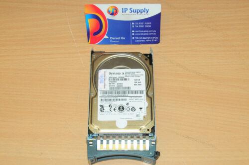 IBM 42D042 42D0643 42D0646 146Gb 10K rpm 6Gb SAS 2.5/'/' HDD w//Caddy 6MthWtyTaxInv