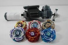 BEYBLADE LOT HASBRO TAKARA LIGHTNING METEO RUSH ABSOURB ASSAULT L-DRAGO Set of 6