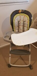 f2c20c094402 Image is loading Ingenuity-Trio-3-In-1-Deluxe-High-Chair-