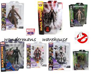 Figurines Marvel Select - Les Gardiens De La Galaxie / avengers / ghostbusters - Nouveau