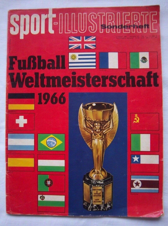 Orig.PRG   Guide   WM   Weltmeisterschaft ENGLAND 1966 - Sonderotition   RARITÄT