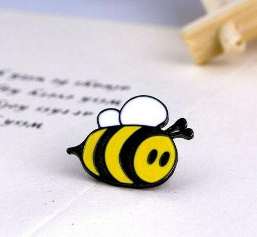 UK Seller Cute Bumblebee Pin Badge Brooch Save The Bees Honey Bee