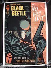 francesco francavilla Black Beetle comic dark horse Art Print Poster