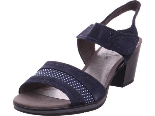 Damen Jana Jana Jana Blau Sandalette Sandalette Damen Sandale Sandale Sandalette Blau Damen TnIgp