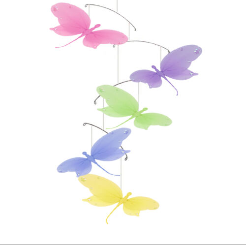 Dragonfly Mobile Children Baby Girl Jewel Dragonflies Hanging Nursery Decoration