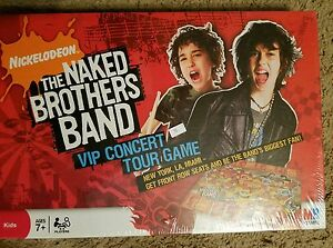NICKELODEON THE NAKED BROTHERS BAND Vip Concert Tour Game