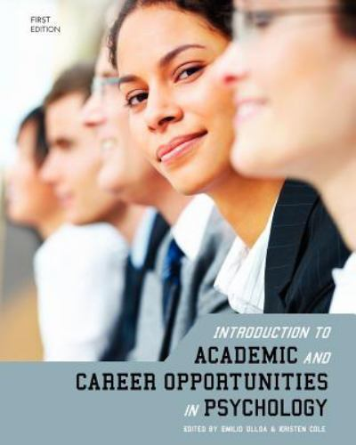 Introduction To Academic And Career Opportunities In Psychology First Edition 2011 Trade Paperback For Sale Online Ebay