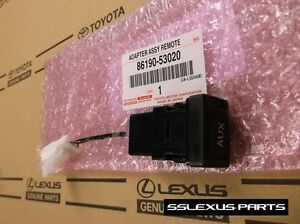 Details about Lexus IS250 IS350 ISF (2006-2008) OEM Genuine AUX JACK INPUT  RADIO ADAPTER