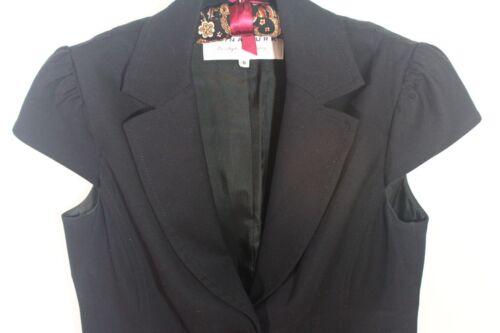 Sort Cap Usa Vest Trina Sleeves Short Længde Made Hip Turk Jacket 6 Lapels gFWqw4Z