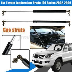 2x Bonnet Gas Struts Lift Support for Toyota Landcruiser Prado 120 Series