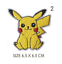 Pokemon-Embroidered-Patches-for-Embroidery-Cloth-Patch-Badge-Iron-Sew-On-Pikachu thumbnail 3