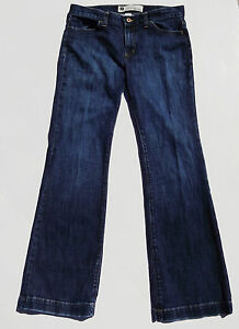 GAP-Jean-8-Long-Lean-Stretch-Retail-69-95-NWOT-Med-amp-Dark-Blue