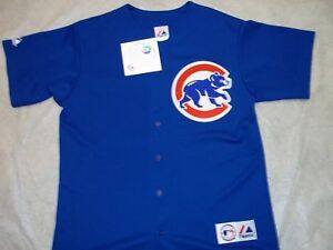 more photos 15a0d 30f0c Details about CHICAGO CUBS ALTERNATE MAJESTIC MLB JERSEY