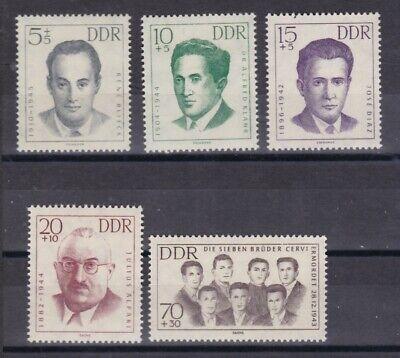 918-922 Erhaltung Nationalen Mahn Und Gedenkstätten Mangelware Ddr 1962 Postfrisch Minr