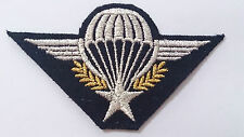 écusson Patch BRODÉ type Brevet BMP TAP PARA Armée de l'Air & 2°REP LÉGION