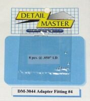 Detail Master 1/24-1/25 Adapter Fitting 4 (8pc) Det3044