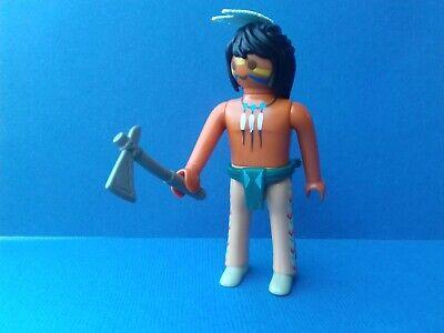 Un guerrier apache sur le sentier de la guerre PLAYMOBIL Western