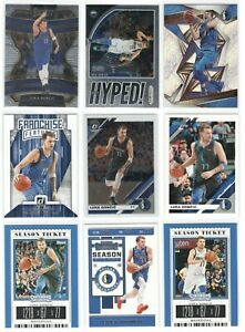 x9-Different-LUKA-DONCIC-2019-20-Basketball-card-lot-set-Select-Optic-Revolution