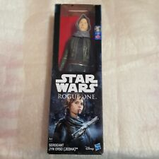 Star Wars SERGEANT JYN ERSO ROGUE ONE JEDHA Action Figures 30cm Hasbro B9758