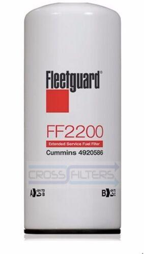 Pack of 2 Trust OEM For Cummins FF2200 Fleetguard Fuel  Filter Free Shipping