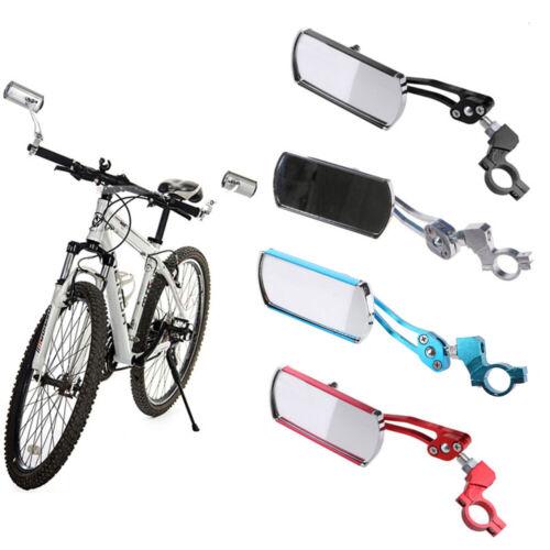 Rotate Motorcycle Looking Glass Handlebar Bicycle Mirror MTB Bike Rearview