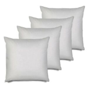 Pillow Insert 28x28 Set Of 4 Euro Sham Pillow Stuffer Square