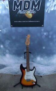 Mahar Strat Style Electric Guitar Sunburst Finish
