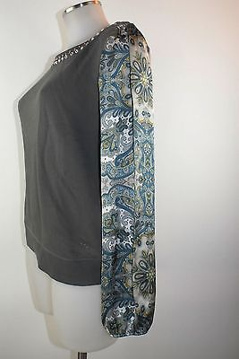 Liu Jo Maglione Xs S 34 36 38 Grigio Sweat Shirt Cotone Pullover Jumper Nuovo-mostra Il Titolo Originale Una Vasta Selezione Di Colori E Disegni