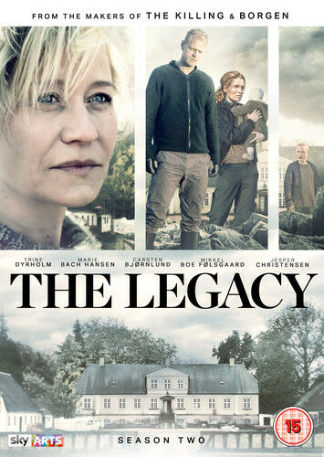 The Legacy: Season 2 DVD (2015) Trine Dyrholm cert 15 2 discs ***NEW***