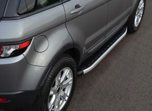 Barras laterales de aluminio pasos que ejecutan las placas para caber Jeep Grand Cherokee 2011+