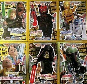 101-Boba Fett-Lego Star Wars cartes de collection série 1