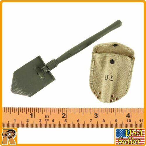 Private Caparzo 1//6 Scale Metal Shovel /& Cover DID Action Figures