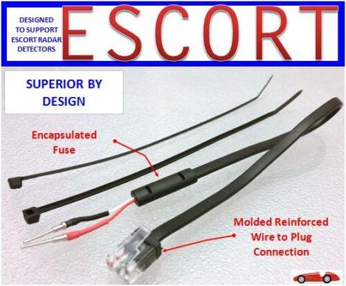MP-ESCT ESCORT,Redline Radar Detector  Direct Mirror Power Cord