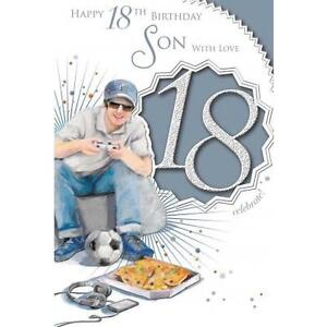Son xpress yourself celebrity style age 18 birthday greetings cards image is loading son xpress yourself celebrity style age 18 birthday m4hsunfo